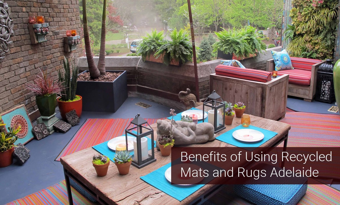 The Benefits of Using Recycled Mats and Rugs Adelaide