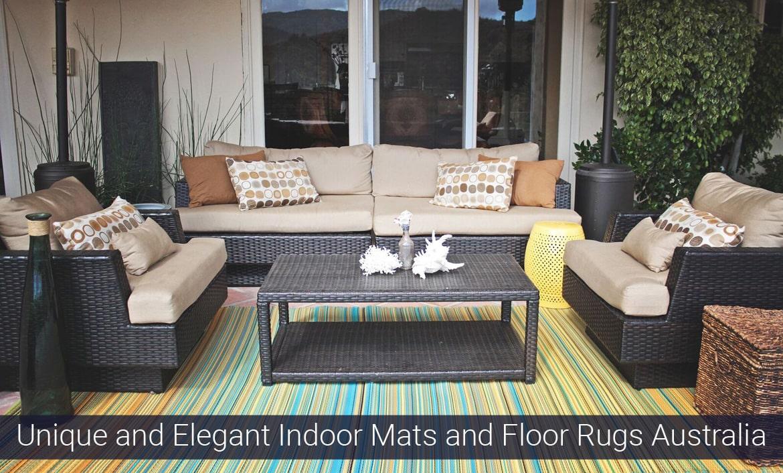 Unique and Elegant Indoor Mats and Floor Rugs Australia