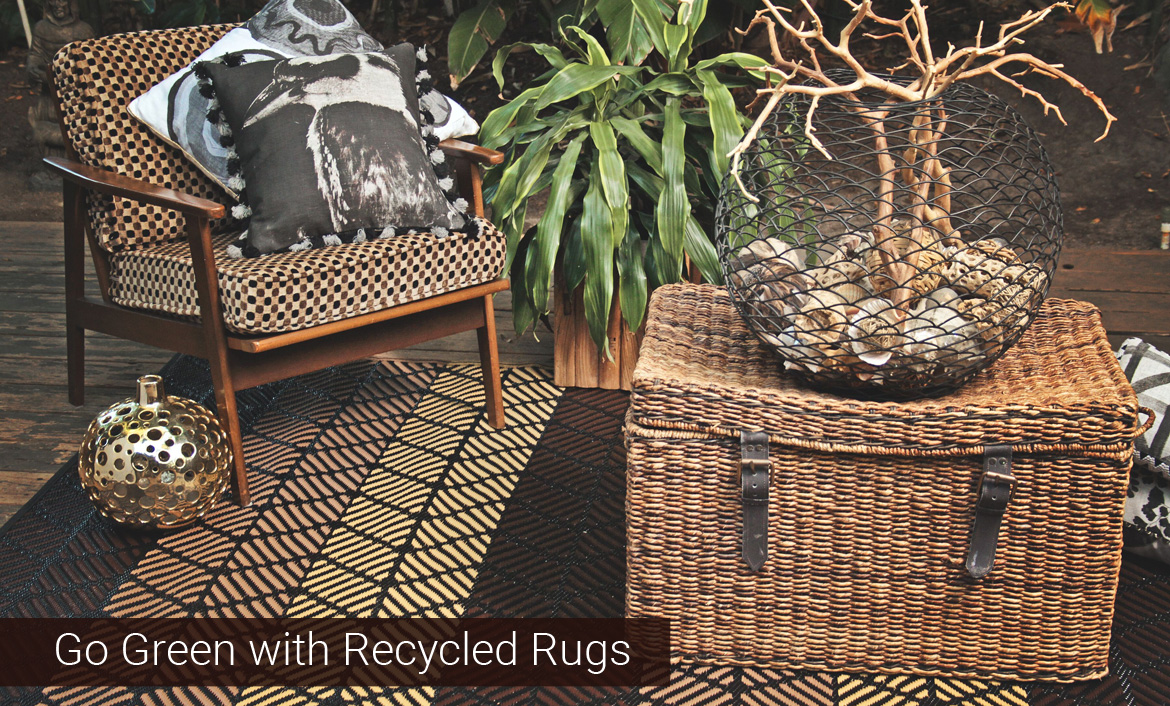 Go Green with Recycled Rugs
