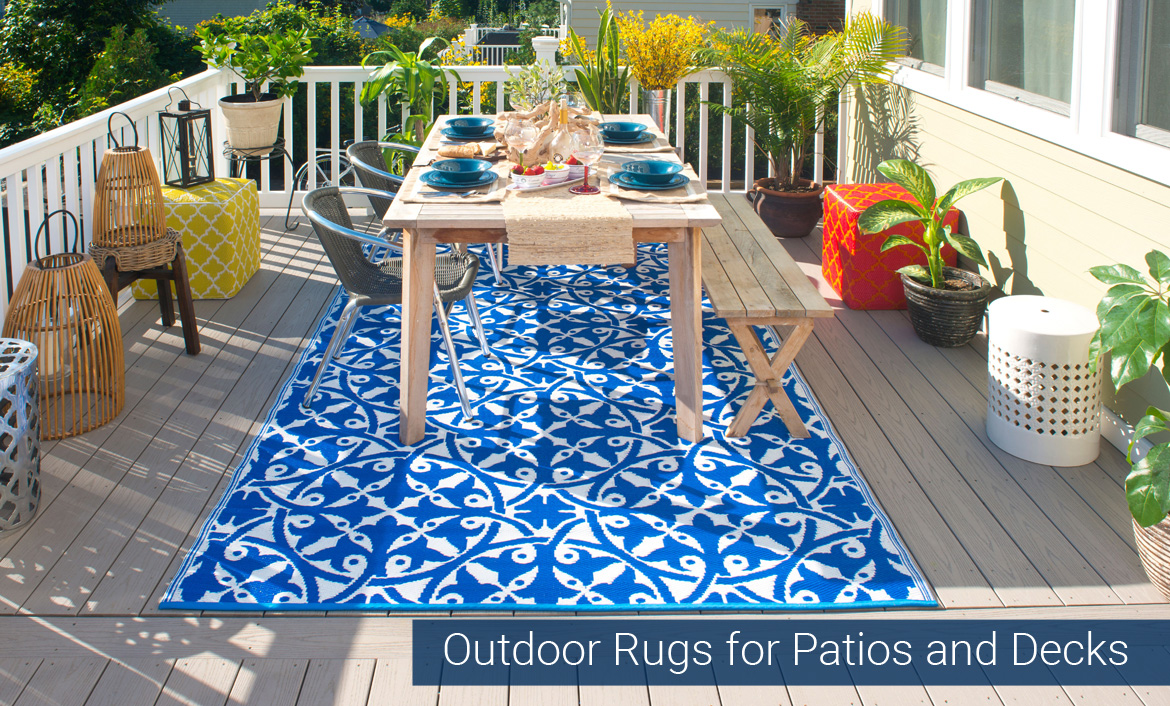 Outdoor Rugs for Patios and Decks