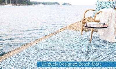 Uniquely Designed Beach Mats