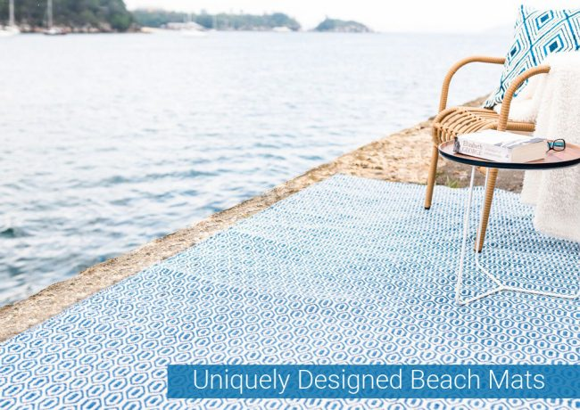 Uniquely Designed Beach Mats