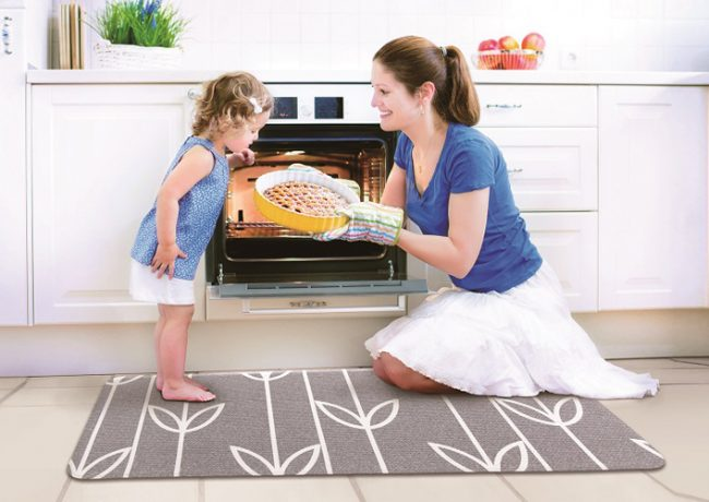 Super Soft Multipurpose Laundry and Kitchen Mats