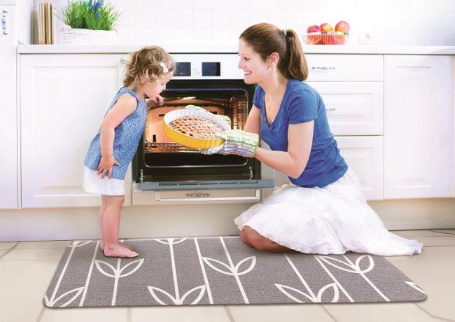 Super Soft Multipurpose Laundry and Kitchen Mats