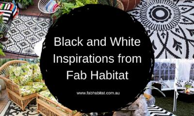 Black & White Inspirations from Fab Habitat 🔲🔳