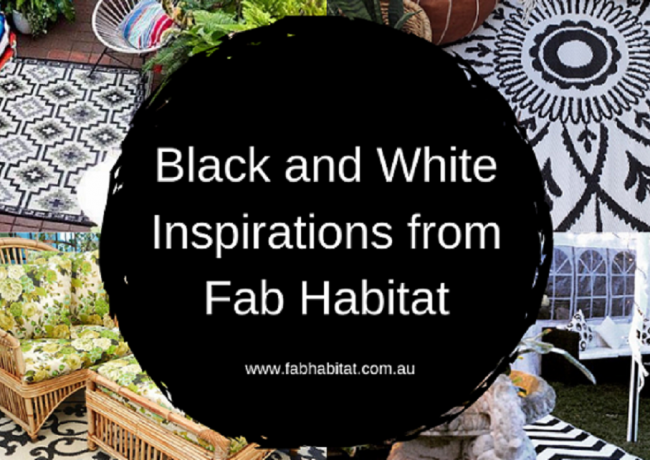 Black & White Inspirations from Fab Habitat 🔲🔳